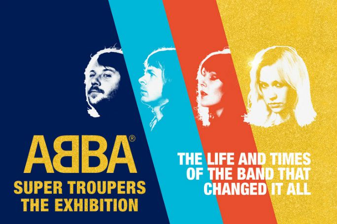 ABBA Super Troupers The Exhibition Tickets