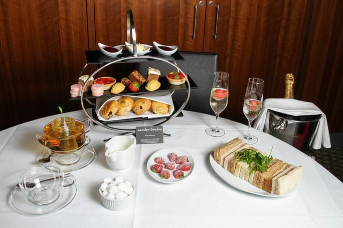 Afternoon Tea at Ambassadors Bloomsbury Number Twelve Restaurant Tickets