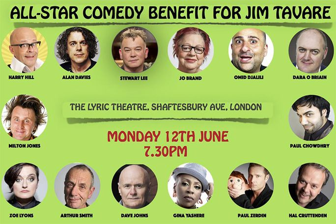 All-Star Comedy Benefit for Jim Tavare Tickets