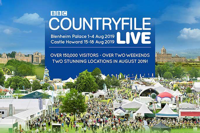 BBC Countryfile Live 2019 - Blenheim Palace Tickets
