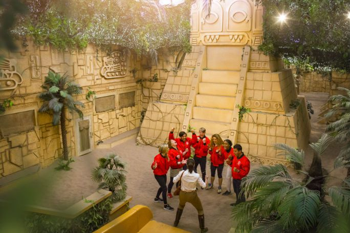 The Crystal Maze Live Experience - London West End Maze Tickets