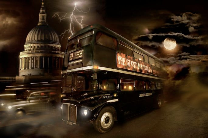 Ghost Bus Tours Tickets