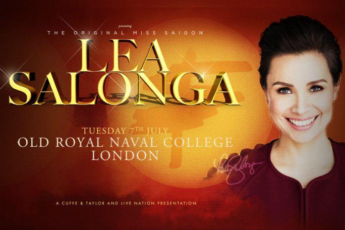 Lea Salonga - Greenwich Music Time Tickets