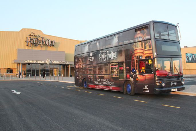 Warner Bros. Studio Tour with Coach from Kings Cross Tickets