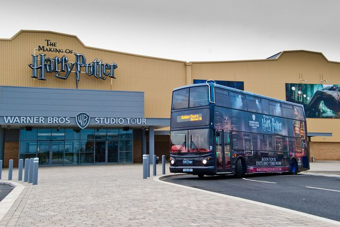 Warner Bros. Studio Tour with Coach from Victoria  Tickets