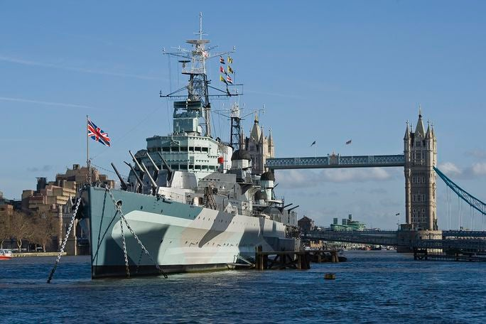 HMS Belfast Tickets