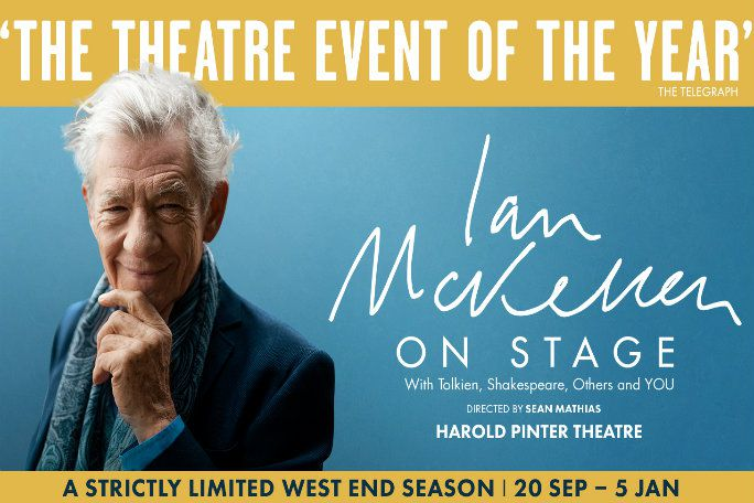 Ian McKellen On Stage: With Tolkien, Shakespeare, Others and YOU Tickets