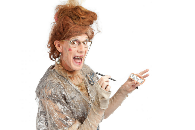 Ida Barr: Granarchist Bingo Tickets