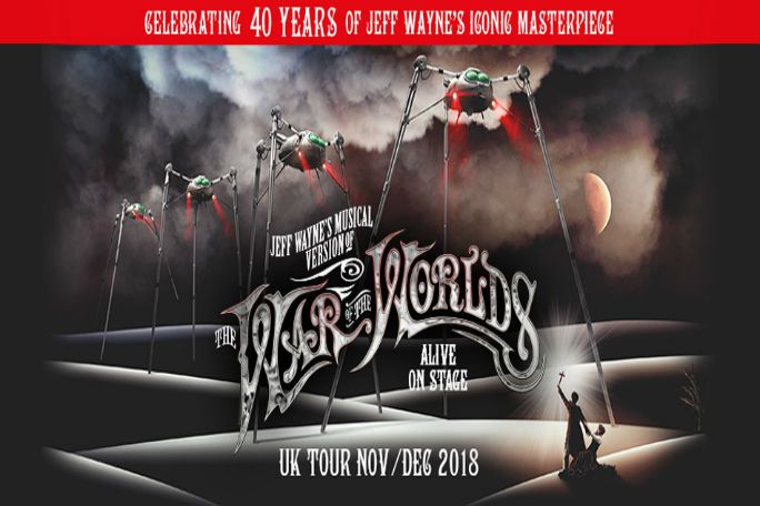 Jeff Wayne's War of the Worlds Tickets