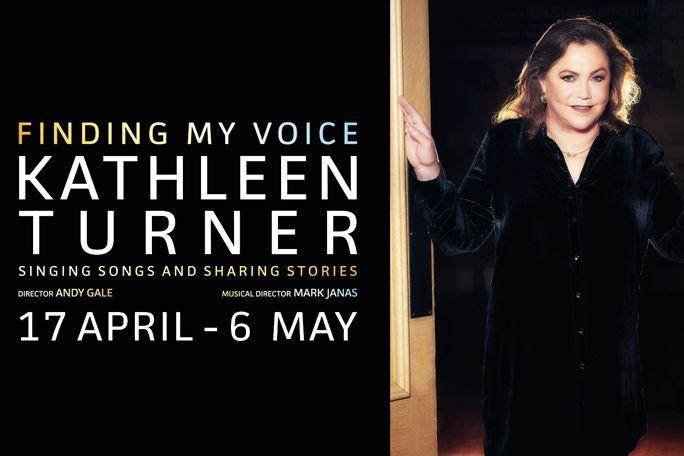 Kathleen Turner - Finding My Voice Tickets