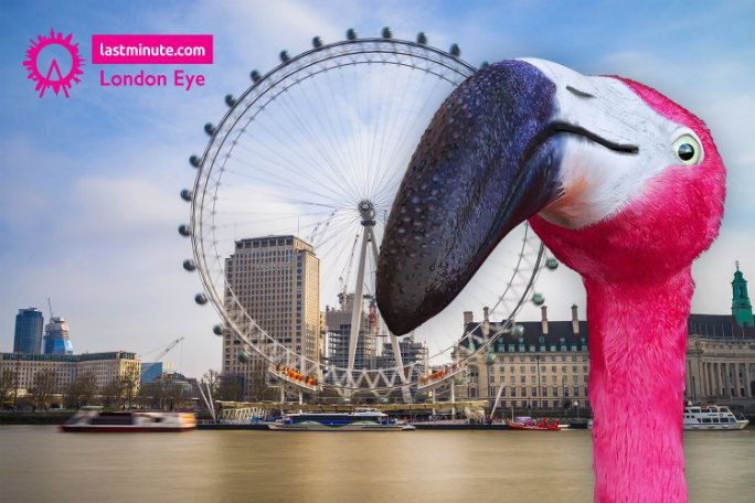 The lastminute.com London Eye Standard Experience Tickets