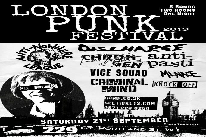 London Punk Festival 2019 Tickets