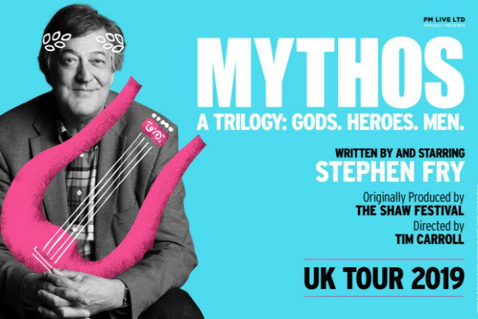 Stephen Fry Mythos A Trilogy: Gods Tickets