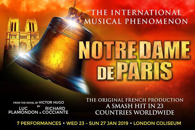 Notre Dame de Paris Tickets