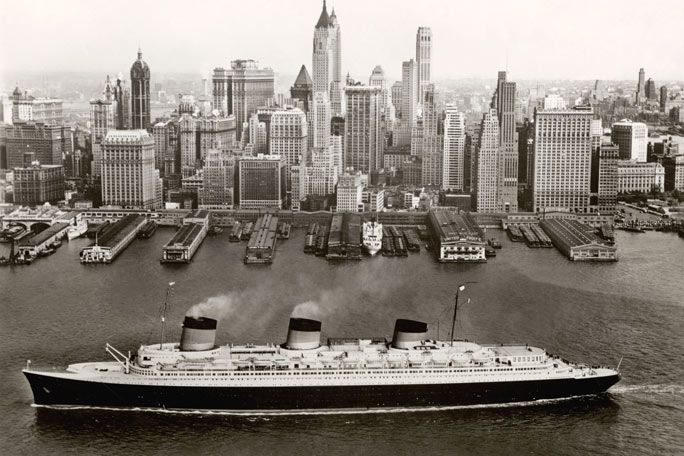Ocean Liners: Speed and Style Tickets
