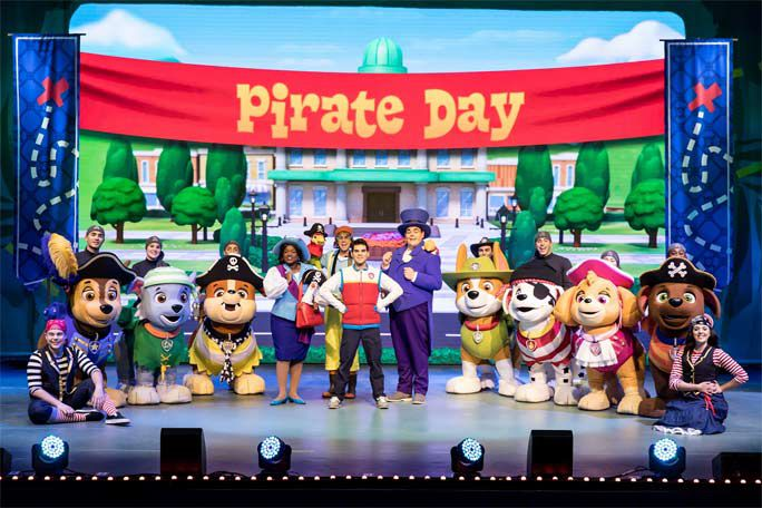 Paw Patrol Live! The Great Pirate Adventure: London Tickets