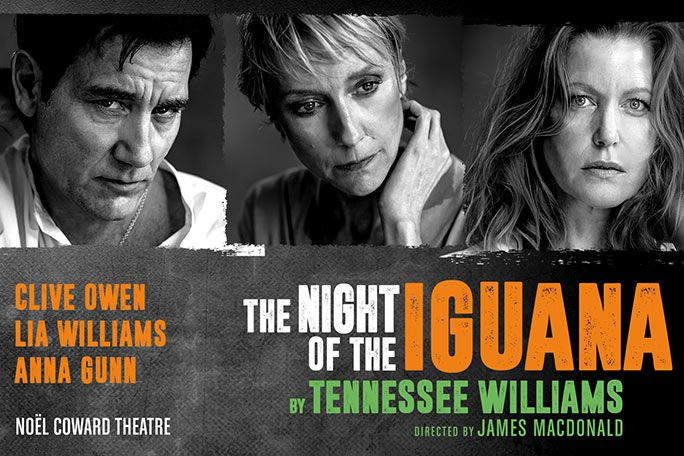 The Night of the Iguana Tickets