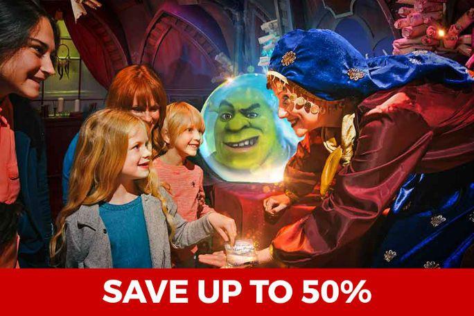 DreamWorks Tour: Shrek's Adventure! Tickets