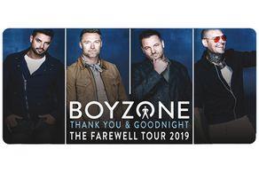 Boyzone - Thank You & Goodnight Tickets