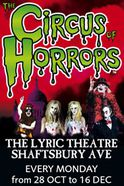The Circus of Horrors Tickets