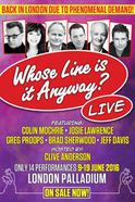 Whose Line Is It Anyway?... Live Tickets