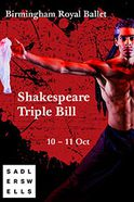 Birmingham Royal Ballet - Shakespeare Triple Bill Tickets