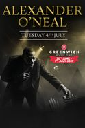 Alexander O'Neal at Greenwich Music Time  Tickets
