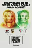 London Double Header 2017 Tickets