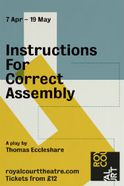 Instructions for Correct Assembly Tickets
