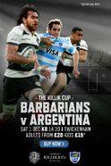 Barbarians V Argentina Tickets