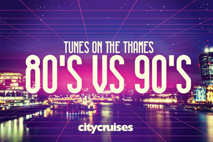Tunes on the Thames - 80's vs 90's Tickets