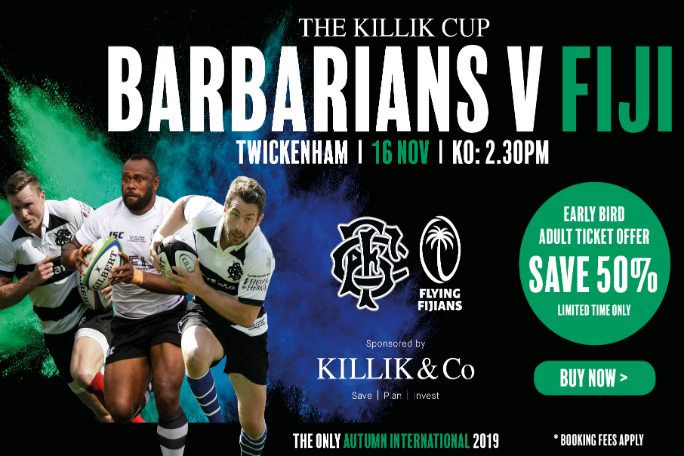 Barbarians vs. Fiji Tickets