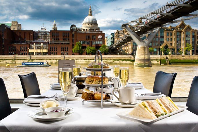 Bateaux Afternoon Tea Cruise Tickets