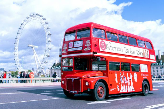 B Bakery Afternoon Tea Bus London Tour Tickets