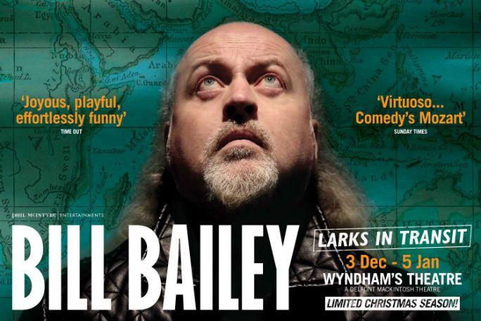 Bill Bailey - Larks in Transit Tickets
