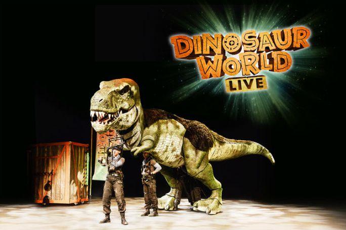 Dinosaur World Live Tickets