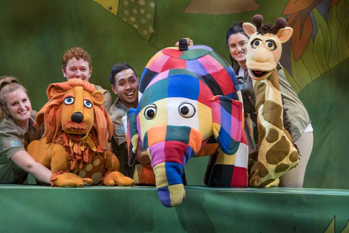 Elmer the Patchwork Elephant Tickets