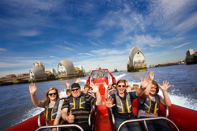 Thames Rockets: Thames Barrier Explorers Voyage Tickets