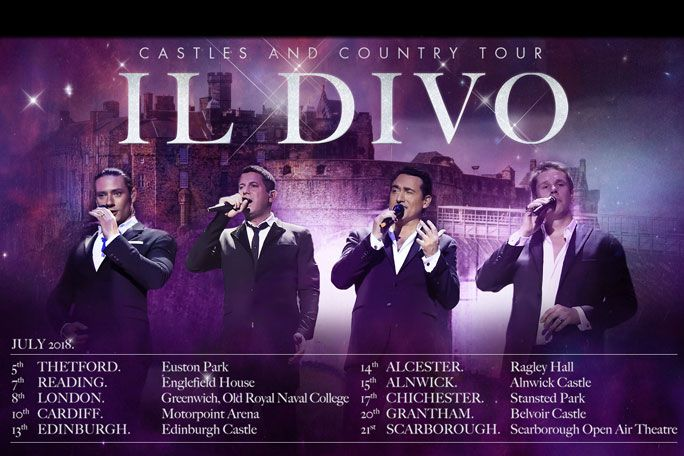 Il Divo: London at Greenwich Music Time Tickets