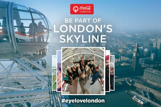 Image result for Coca-cola London eye