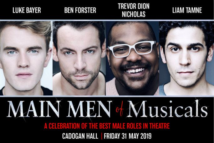 Main Men of Musicals Tickets