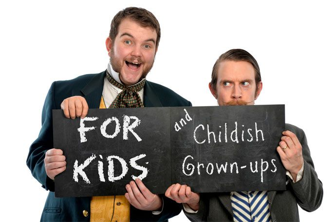 Morgan & West's Utterly Spiffing Spectacular Magic Show for Kids Tickets