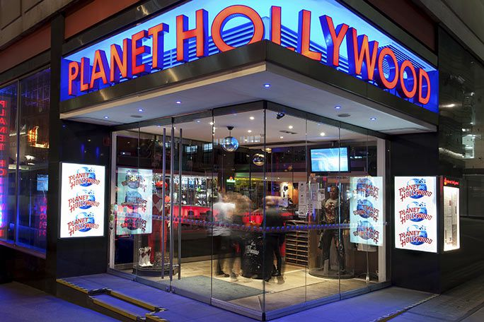 Pre-Theatre Dinner at Planet Hollywood Tickets