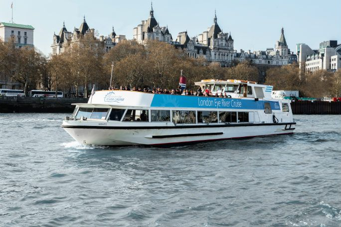 Coca-Cola London Eye River Cruise Experience (Same Day) Tickets