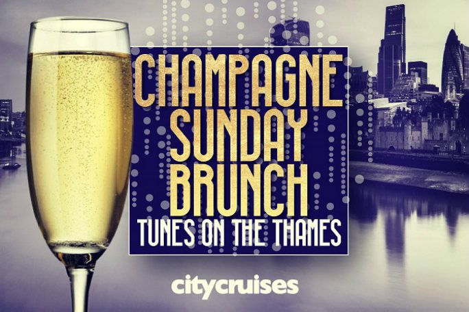 Tunes on the Thames - Champagne Sunday Brunch Tickets