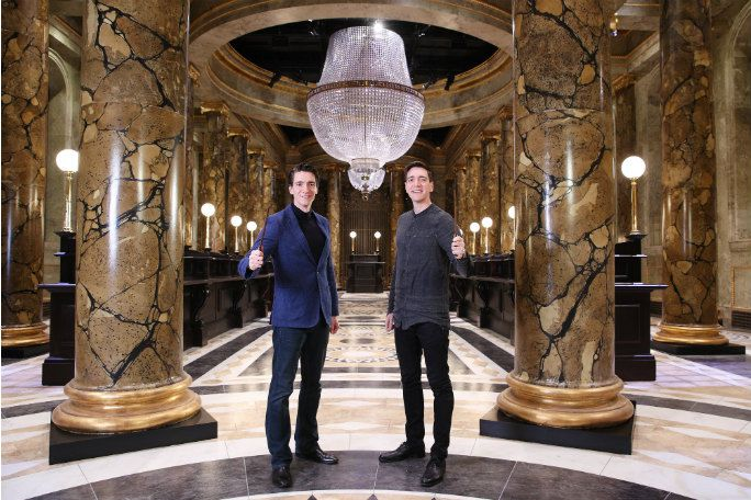 Meet James & Oliver Phelps at an Exclusive Warner Bros. Studio Tour London Event with Transfers Tickets
