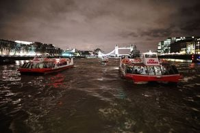 London Showboat Dinner Cruise Tickets