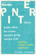 Pinter Three: Landscape / A Kind of Alaska / Monologue Tickets